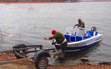 Лебедка для лодки или катера от компании Winch.com.ua