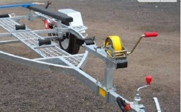 Лебедка для лодочного прицепа - применение и предназначение