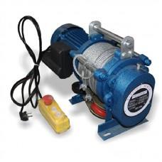 Лебедка электрическая KCD 300/600 кг 220 В 60 м (без блока)