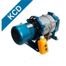Лебедка электрическая KCD 300/600 кг 220 В 30 м (без блока)