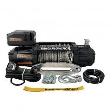 Автомобильная лебедка Kangaroowinch K12000 Extreme HD 12V с синтетическим тросом