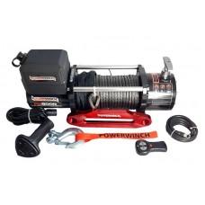Автомобильная лебедка Powerwinch PW8000E-SR-12V синтетический трос
