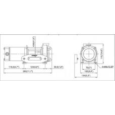 Лебедка COMEUP ATV Cub 2s std 12 V 122112 синтетический трос