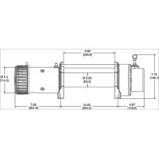 Автомобильная лебедка WARN 9.5XP 12V 4310 кг 86500